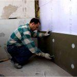 Как подготовить утепленные стены к оштукатуриванию? армированный слой