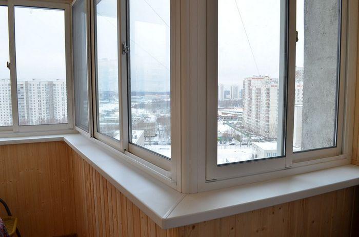 Остекление лоджий и балконов домов серии П-44