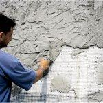 Традиционная цементно-известковая штукатурка — свойства и применение