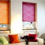 Как подобрать узоры и цвета рулонных штор с вашим интерьером