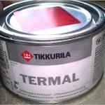 Преимущества и недостатки термостойких красок