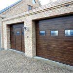 Секционные гаражные ворота — размеры, эксплуатация, монтаж
