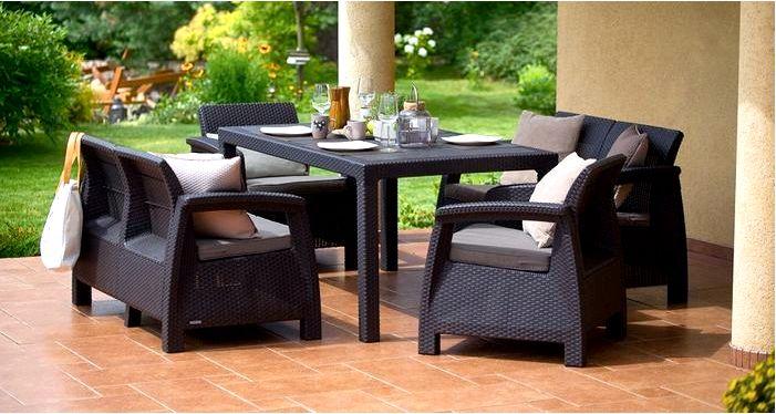 Мебель из искусственного ротанга: основные характеристики