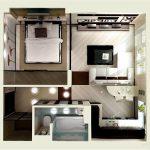 Перепланування однокімнатної квартири