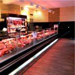 Светодиодное освещение витрин для свежего мяса