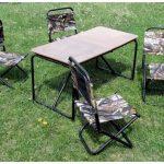 Выбор стола для загородного отдыха