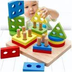 Детские деревянные игрушки: виды, выбор