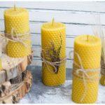 Изготовление свечей из вощины